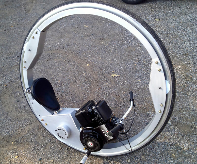 The Mclean Wheel Mclean Monocycle